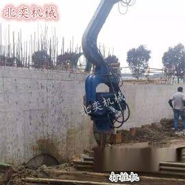 供应液压打桩锤 液压振动锤 高频液压振动打桩机厂家厂价直销