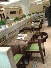 武汉尚美格餐厅靠背椅