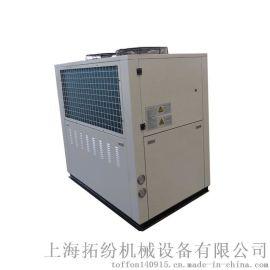 电镀冷冻机,快速冷冻机,风冷螺杆式冷水机常温双机一
