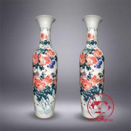 花開富貴酒店開張禮品陶瓷大花瓶