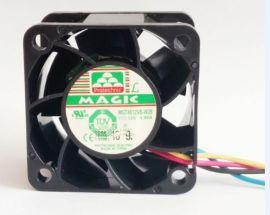 全新大风量服务器风扇4028 12V 0.80A MGT4012VB-W28 PWM功能 全新大风量服务器风扇