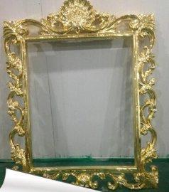 和业厂家定制玻璃钢相框、装饰镜框制品