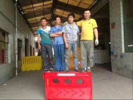 滚塑水马  厂商 隔离防撞水马价格 交通安全设施水马防撞桶