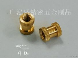 塑胶件M1.4热熔螺母外壳专用铜螺母