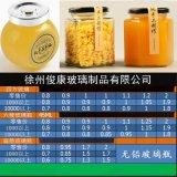 四方扁鼓六棱果酱蜂蜜玻璃瓶子豆腐乳辣椒酱菜食品包装密封罐