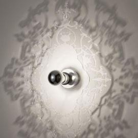 壁燈羅馬影子壁燈北歐美式臥室陽臺過道5D幻影led壁燈
