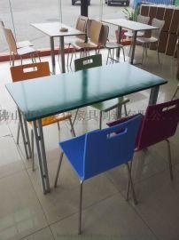 广东厂家生产提供工厂饭堂餐桌椅