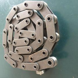 工业链条 流水线链条 双节距大滚子输送链 定制涂装线 工厂批发