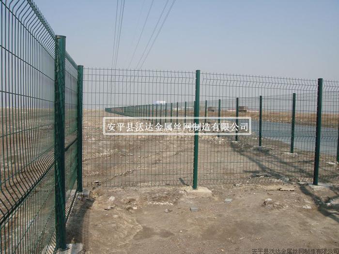 桃形柱護欄網,南水北調護欄