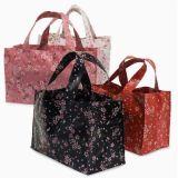 日式滌綸袋,碎花手提袋