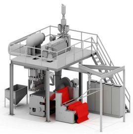 金韦尔机械聚丙烯熔喷无纺布生产线