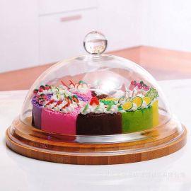 亚克力食品罩 有机玻璃罩 深圳龙岗有机玻璃透明半球罩子加工厂