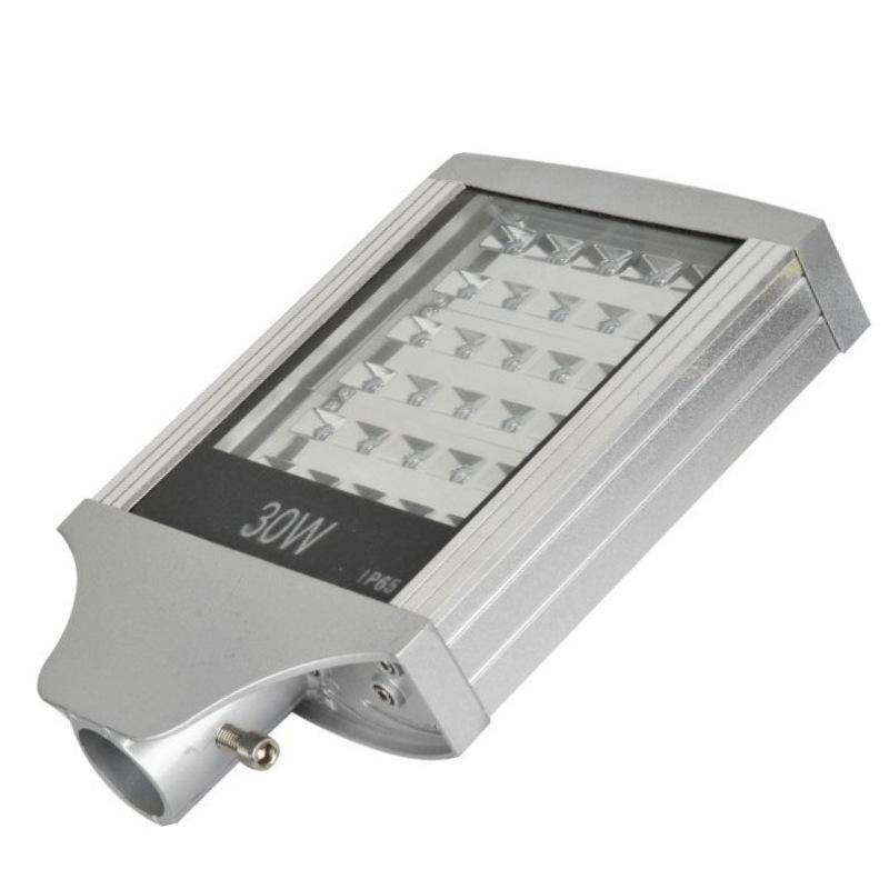 led路灯头30w50w60w平板压边路灯外壳 大功率压铸路灯外壳套件