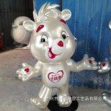 玻璃鋼卡通動物吉祥物定製 玻璃鋼戶外定製雕塑園林擺件
