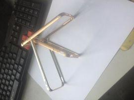 广州专业铝合金苹果手机金属边框,宇雄专业手机冲压高光加工