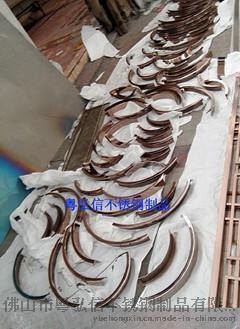 不锈钢包边门套 不锈钢压边线条 不锈钢收边线条