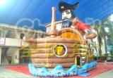 大型海盗船长充气跳床出售