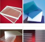 【PC陽光板廠家】直銷雙層透明抗老化進口全新料PC中空陽光板