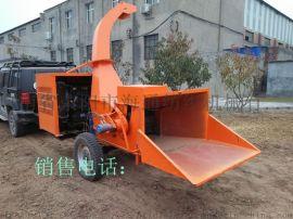海通牌9SZ-780型移动式园林树枝粉碎机厂家直销