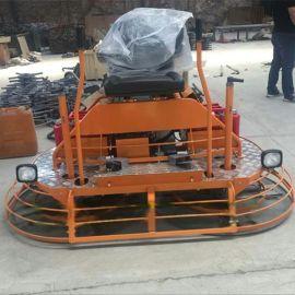 路面收光用的座驾式双圆盘混凝土磨光机
