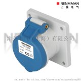 工业插座TYP-1366 3P16A  220V IP44 TYP1390 TYP1261 TYP 1399 TYP1492码头专用 上曼电气 MANLAKIS