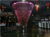 琶醍創意園哪裏定做魚缸,酒吧定做亞克力觀賞魚缸
