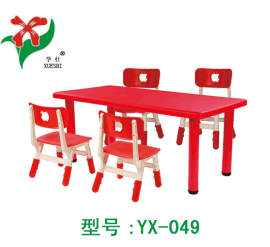 幼儿园课桌椅、幼儿园方桌、儿童课桌椅
