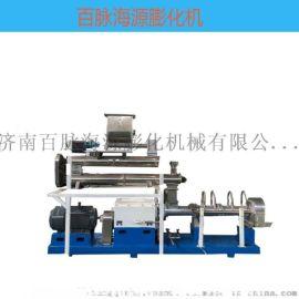 鳗鱼饲料生产线案例 水产饲料膨化机加工设备