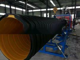 合创格瑞鑫塑料机械双层内勒排污管生产线