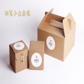 定做茶葉包裝環保特色創意包裝果醬糖果蜂蜜包裝盒空白牛皮紙盒