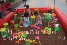 河南兒童遊樂經營產品容易忽略的充氣沙灘池