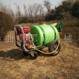 直供160L汽油高压喷雾机推车式四轮打药机
