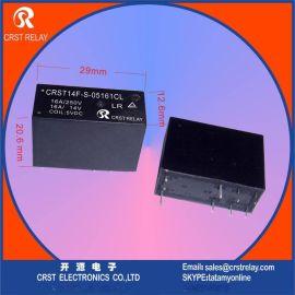 单线圈磁保持继电器CRST14F LR 24V 1组转换负载16A