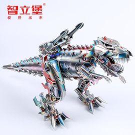儿童益智3D金刚系列立体拼图批发厂家