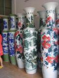 青花陶瓷花瓶 陶瓷青花家用客厅摆设花瓶 陶瓷大花瓶