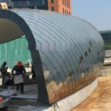 郑州铝镁锰|钛锌板平锁扣菱形板|鱼鳞板 生产安装厂家报价