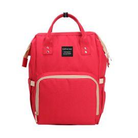 方振箱包专业定制大容量双肩背妈咪包 现货母婴包百搭女背包