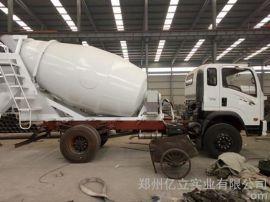 小型混凝土罐车,亿立4m3混凝土搅拌罐车,混凝土搅拌罐价格