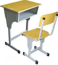 学校课桌椅 单人中小学生可升降课桌椅