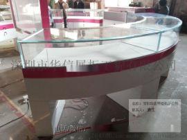 弧形珠宝展柜厂家,珠宝展示柜供应,深圳珠宝展柜厂