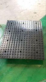 坡道橡胶降噪板供应橡胶坡道防噪板 减噪板 1000*850停车场专用 坡道橡胶板