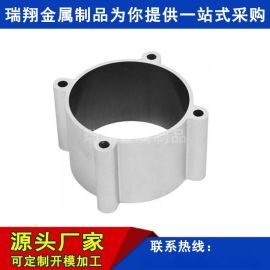 厂家定制加工铝合金液压气缸管型材高精度米字铝缸管