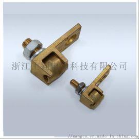 LGJ 铜活动线夹 黄铜 接线夹 电力金具 直销