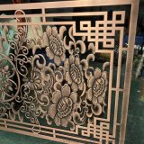 鍍金鋁雕屏風 雙面浮雕屏風隔斷專業加工