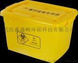 100L加厚加筋款醫療廢物周轉箱,箱體易抽取,輪子不掉落