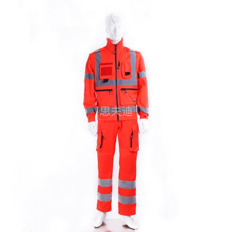 连体救援服 高能见度服 反光服 高可视服 飞行服 道路交通工作