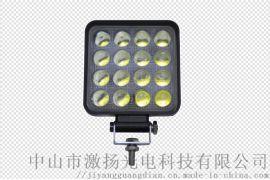 货车LED射灯叉车铲车越野车顶灯48W超亮聚光