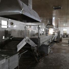 大型全自动鱼豆腐蒸线