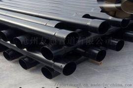 黑色电缆穿线管A细河黑色电缆穿线管现货供应