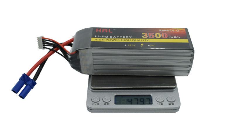 高倍率电池35C 5S 18.5V 3500mAh